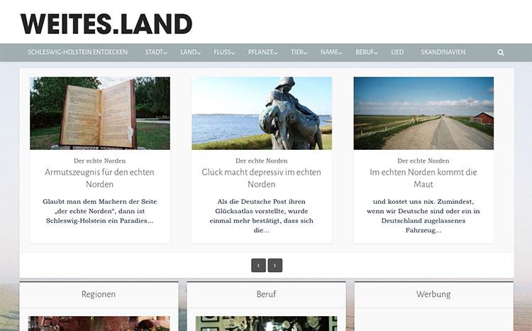 Weites Land - Schleswig-Holstein entdecken