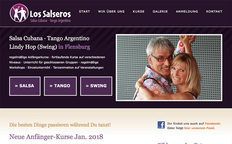 Tanzschule, Flensburg für Salsa Cubana, Tanfo Argentino, Lindy Hop (Swing)