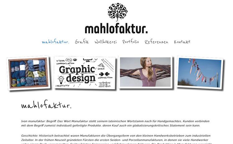 mahlofaktur - Grafik, Design, Handwerk