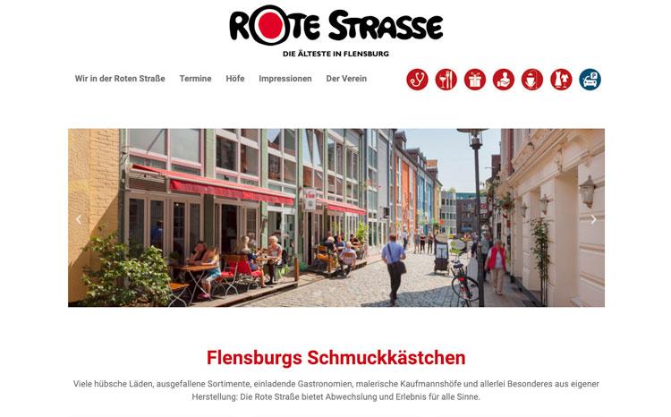Rote Straße, Flensburg